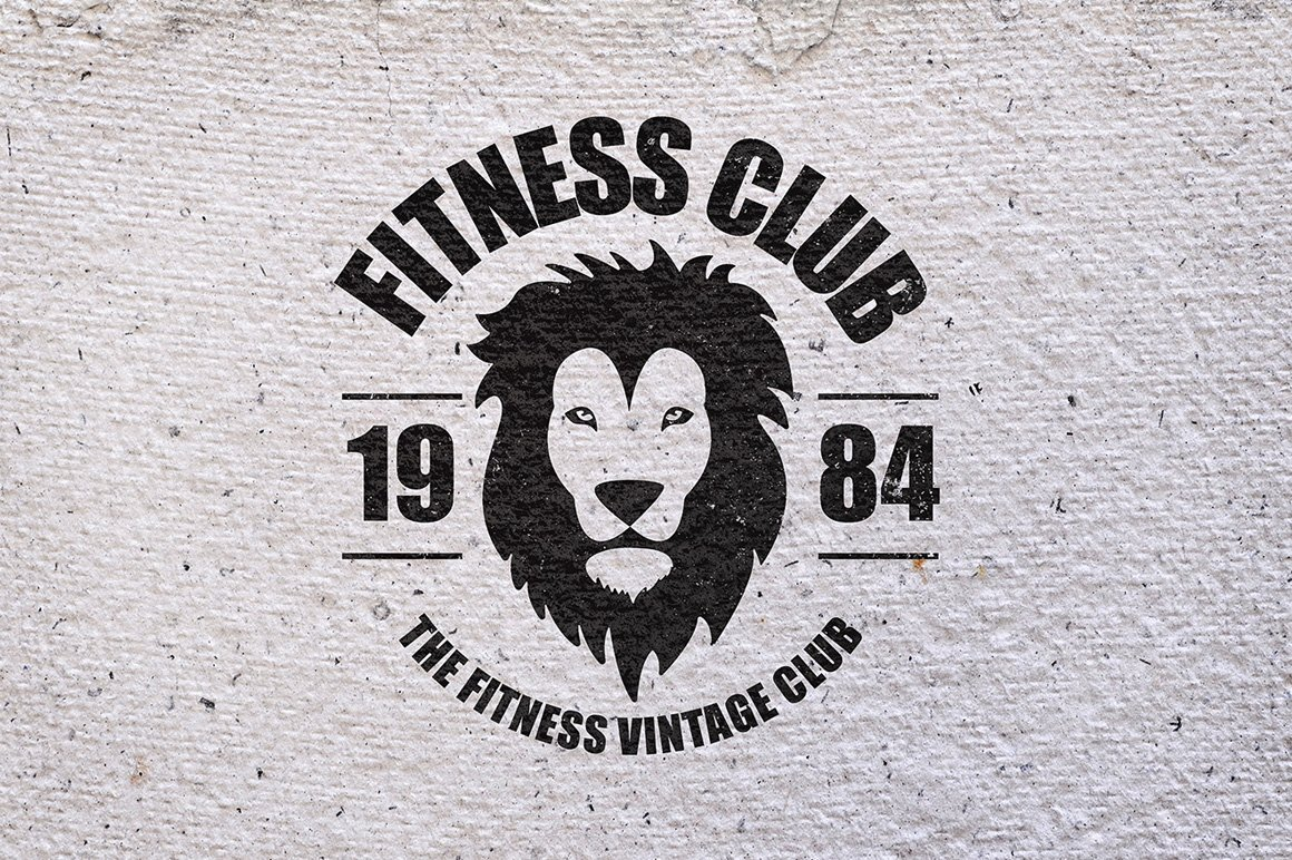 gym workout minimal logos logo templates creative market