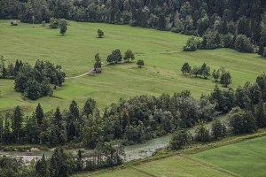 Green Slovenian Countryside