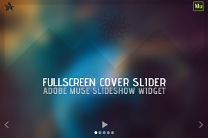 Fullscreen Cover Slider - Adobe Muse