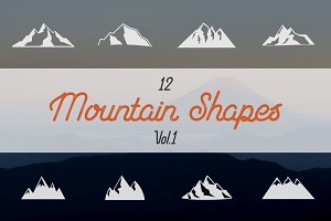Mountain Shapes Collection. Vol.1
