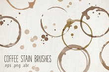Coffee Stain Brushes