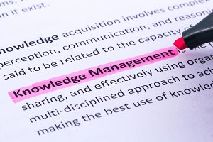 Knowledge management highlighted
