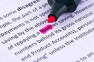 Loan word highlighted