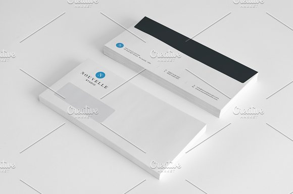 Nouvelle Corporate Stationery V4 in Templates - product preview 3