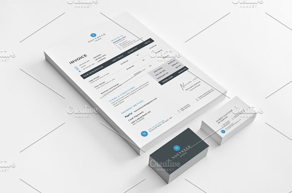 Nouvelle Corporate Stationery V4 in Templates - product preview 4