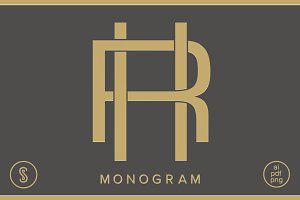 HR Monogram RH Monogram