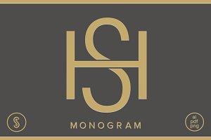 HS Monogram SH Monogram