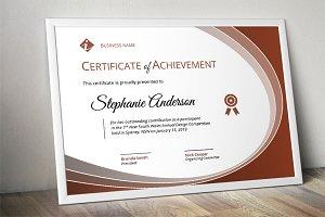 Curve modern certificate