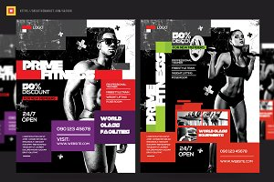 Fitness Flyer / Gym Flyer V14