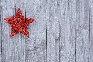 Handmade Christmas star.