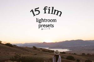 Film Style Lightroom Presets