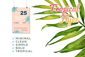 Tropical Vibes Flyer
