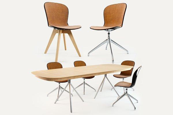 3D Furniture: dk 3d models - BoConcept dining Set