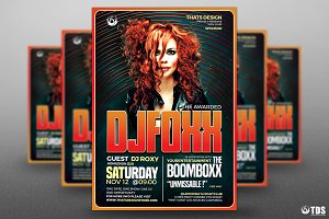 Special Dj Flyer Template V5