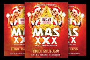 Mas XXX Christmas Flyer