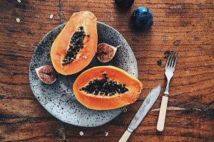 Papaya and Figs