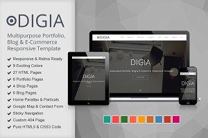 Digia - Digital Creative Template
