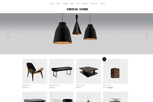 Virtual Store WooCommerce Theme