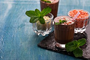 Chocolate Easter drink