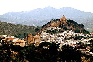 Montefrio village, southern Spain