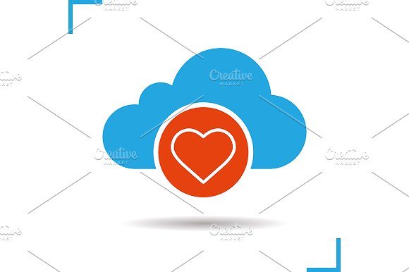 Cloud computing icon. Vector - Icons