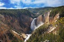 Autumn to Yellowstone  park