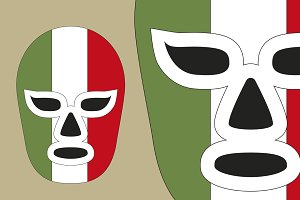 mexican fighting mask lucha libre