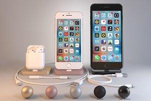Apple iPhone 7, 7 Plus, AirPods