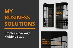 Simple business brochure pack