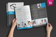 Set of Trifold and Halffold Brochure