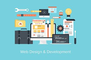 Web Design and Development.