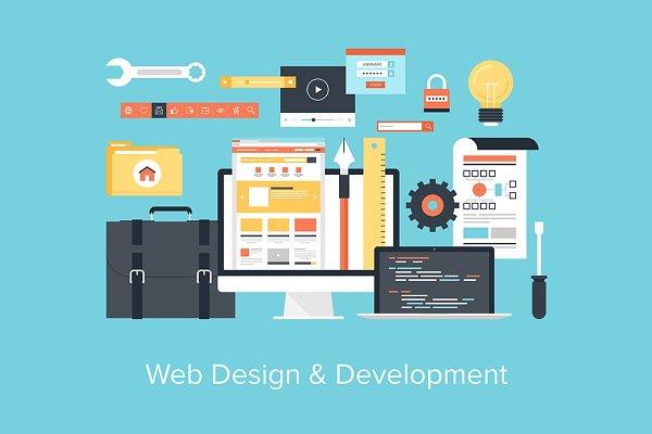 Web Design and Development.