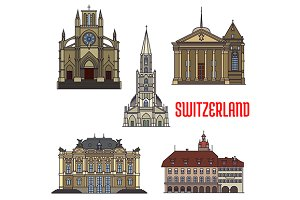 Historic buildings of Switzerland