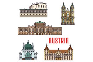 Historic buildings of Austria