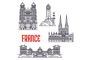 Historic buildings of France
