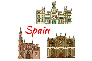 Famous histroric buildings of Spain