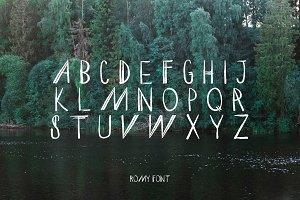 ROMY Headline Font