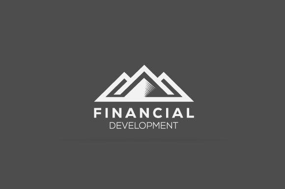 Financial Mountain Logo in Logo Templates