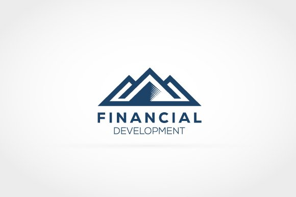 Financial Mountain Logo in Logo Templates - product preview 1