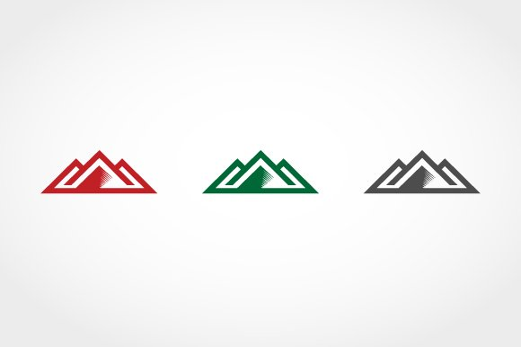 Financial Mountain Logo in Logo Templates - product preview 2
