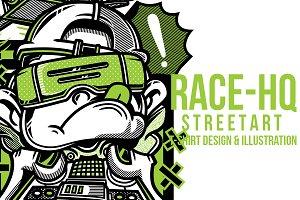 Race-HQ Illustration