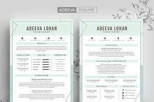 Creative Resume Template Lohan