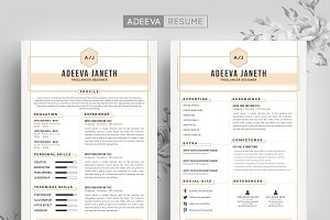 Simple Resume Template Jannah