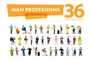 60 profession portraits