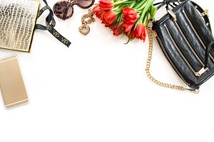 Fashion still life accessories JPG