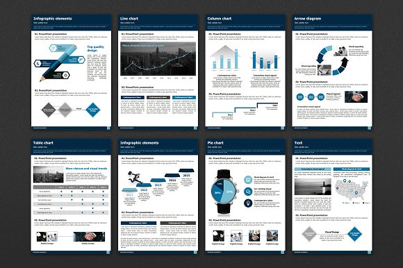 Modern Business Vertical Template in Presentation Templates - product preview 2
