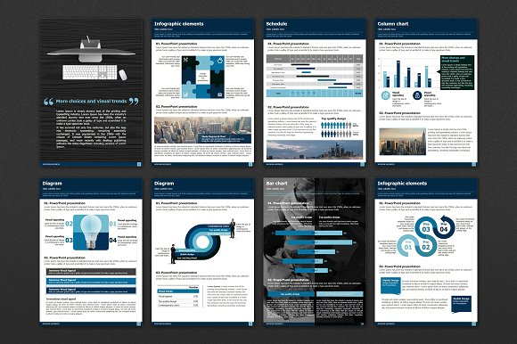 Modern Business Vertical Template in Presentation Templates - product preview 3