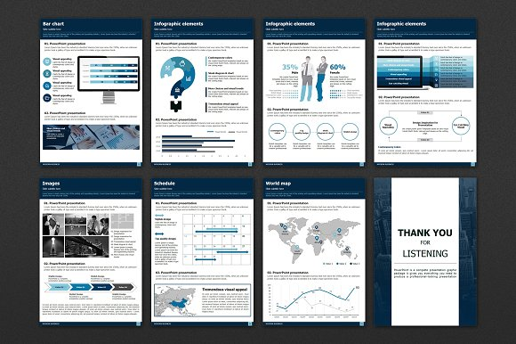 Modern Business Vertical Template in Presentation Templates - product preview 4