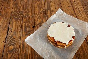 Delicious nontraditional cake
