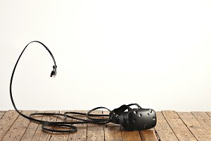 VR glasses and cords